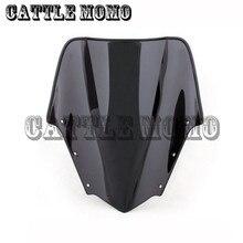 Лобовое стекло для мотоцикла, ветровой экран с двойным пузырьком, ветровой экран для Yamaha FZ1 2006-07 2008 2009 2010 2011, ветровой экран, ветровые дефлекторы