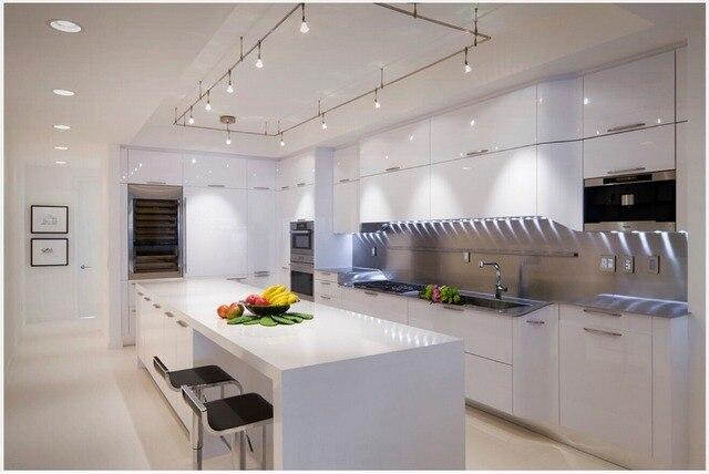 2015 ventes meubles de cuisine blanc laque armoires de cuisine ...