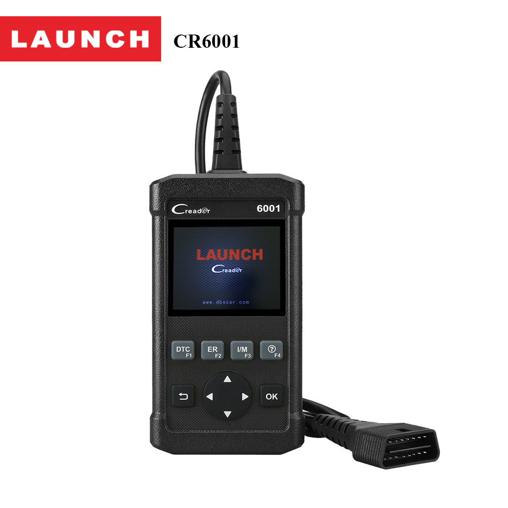 Launch CReader 6001 OBD2 Scan Tool Code Reader with Control of the on-Board System and Print data via PC Auto scanner