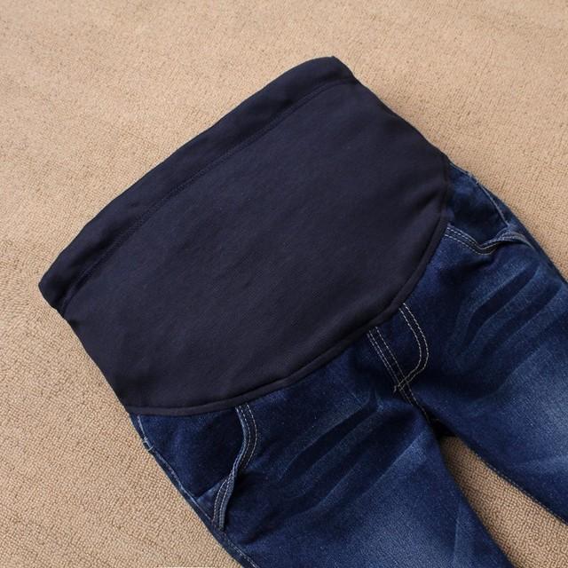 Premium Denim Maternity Jeans for Pregnant Women