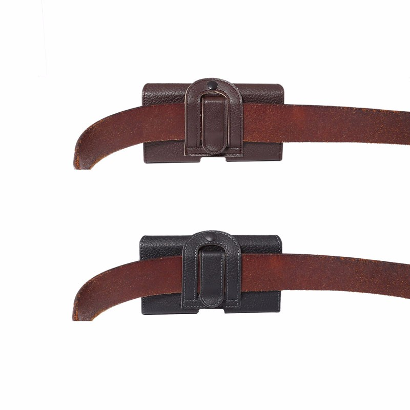 4.8 '' - 6.3 '' Bolso de cintura vintage informal para hombre Estuche - Accesorios y repuestos para celulares - foto 5