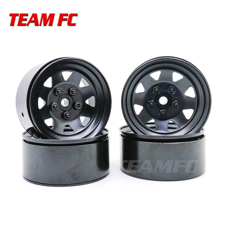4PCS RC Crawler 1:10 Alloy Wheel Rim 1.9 Inch BEADLOCK for 1/10 TRX-4 Axial SCX10 TAMIYA CC01 D90 D110 S320(China)