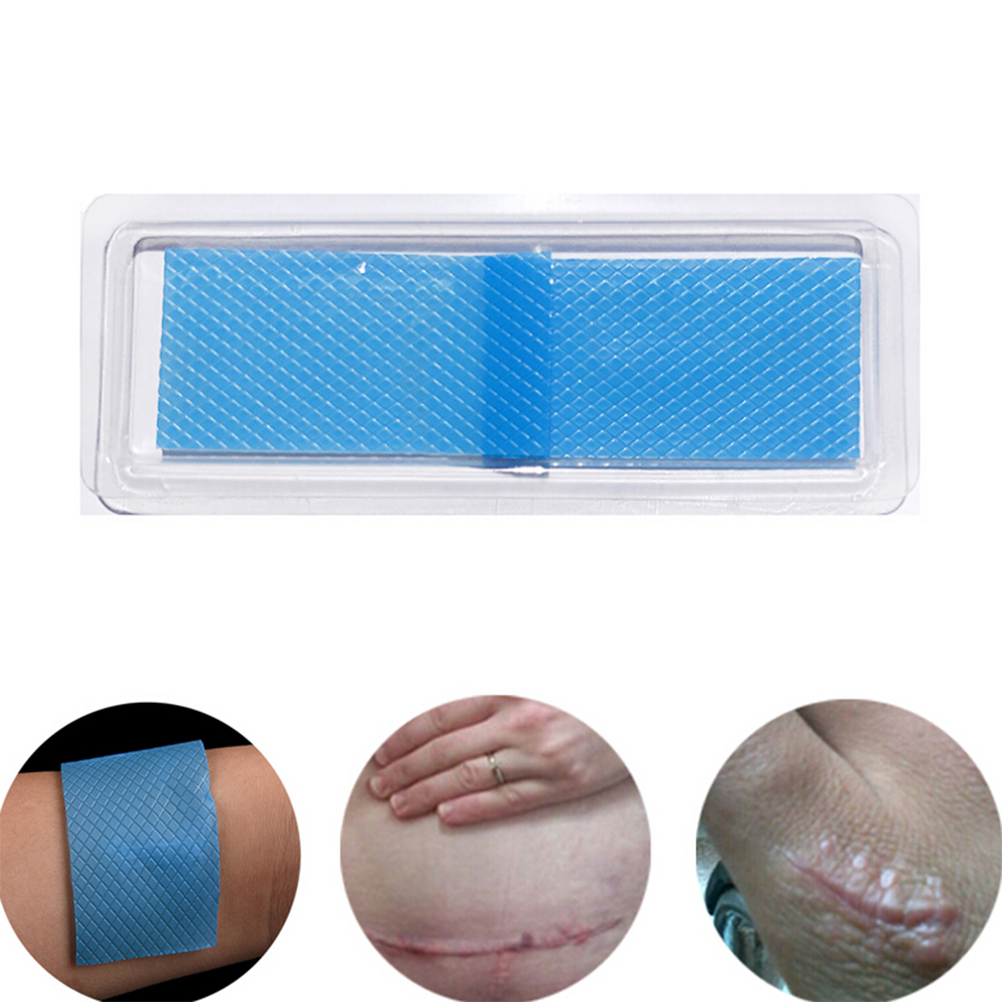 1Pc Silicone Gel Scar Sheet Removal Patch Reusable Acne Therapy Silicon Patch Remove Trauma Burn Sheet Skin Repair 3.5*12cm