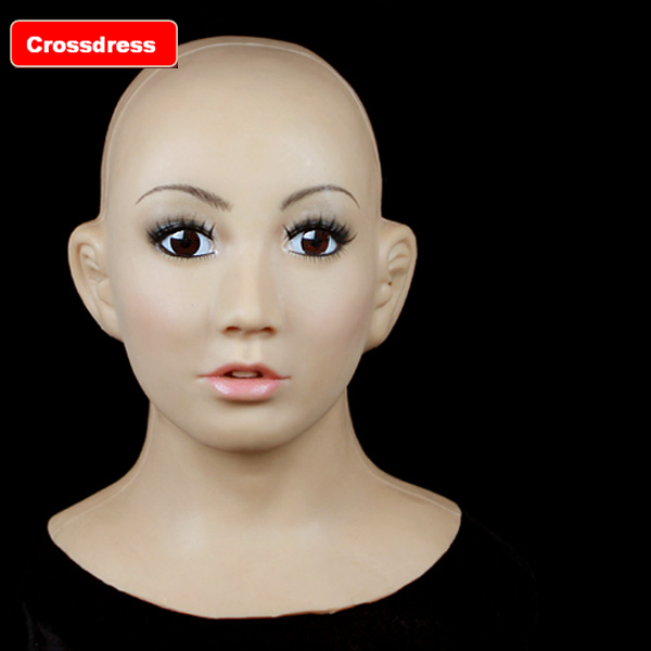 SF-1 real man mask silicone female men realistic rubber  -  Royal Material Technology Co., Ltd store