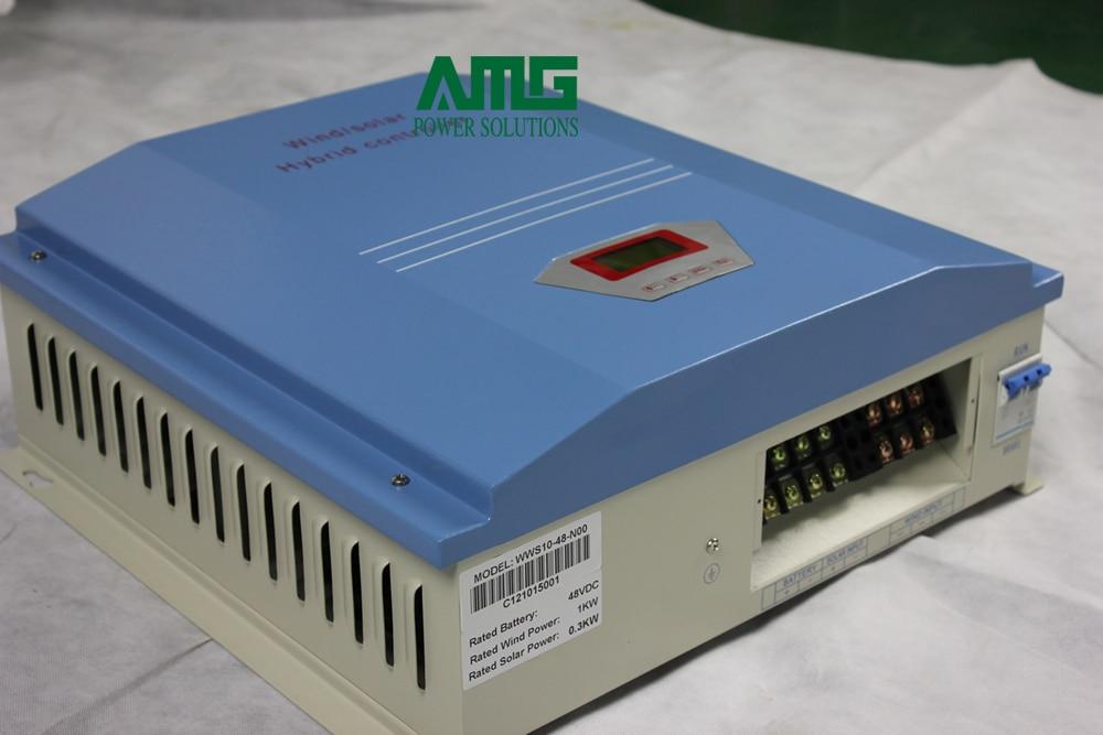 10000W/10KW 120V/220V/240V Wind Solar Hybrid Charge Controller Regulator LCD dispaly with dump load 2 w p w v p10000 10000 waka ddc12