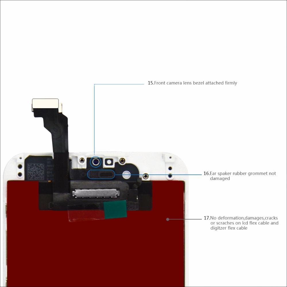 White digitizer color Dop-parts 6