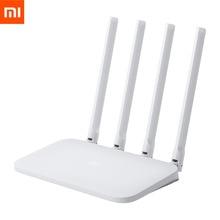 Oryginalny Xiaomi Mi Router WIFI 4C Roteador APP Control 64 RAM 802.11 b/g/n 2.4G 300Mbps 4 anteny routery bezprzewodowe Repeater
