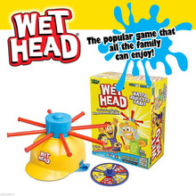 Wet Head Water Roulette Game 2017 Fun Kids Challenge Hat Outdoor Toy