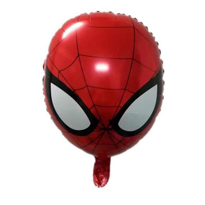 16 นิ้วฟอยล์สีแดงหมายเลข Inflatable บอลลูน Spiderman บอลลูนตกแต่งงานแต่งงานอุปกรณ์ตกแต่ง 0-9