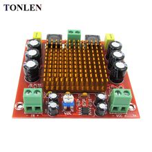 купить TONLEN 1PCS TPA3116D2 DC12V 150W Digital Amplifier Board Mono 1.0  Single Channel Audio Amp Board HIFI power Amplifier Module дешево