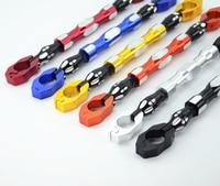 Universal 7 8 22mm Black Aluminum Motorcycle Handlebar Cross Bar Steering Wheel Strengthen Adjustable Handle Bar