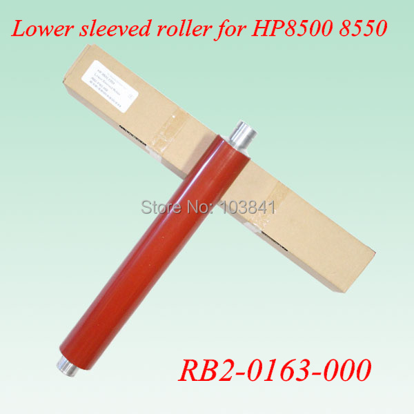 Free shipping lower sleeved roller RB2-0163-000 fuser pressure roller RB1-9720-000 for HP Color LaserJet 8500 8550 Printer parts free shipping high quatily for 8100 8150 lower pressure roller rb2 3522 000 rb2 3522 printer part on sale
