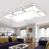 Светодиодный акриловый пульт дистанционного мерцающий потолочный светильник из кованого железа для гостиной, столовой, спальни, потолочны