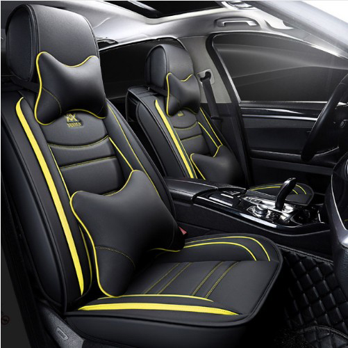 Universal Car Seat Covers Eco Leather /& Fabric fits Audi Q2 Q5 Q3