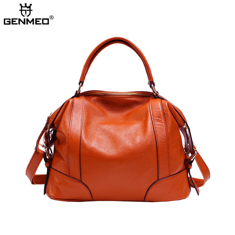 MAIFEINI Genuine Leather Handbag Women Cow Leather Shoulder Bags Sexy Ladies Real Leather Messenger Bag Female Tote Bags цена и фото
