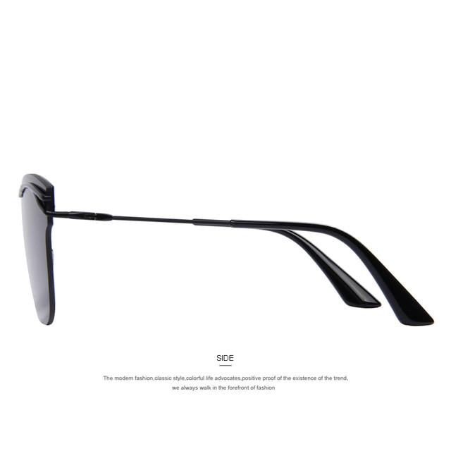 Fashion Women Rimless Cat Eye Sunglasses Classic Brand Designer Oversize Shades UV400 S'7982 Women's Glasses