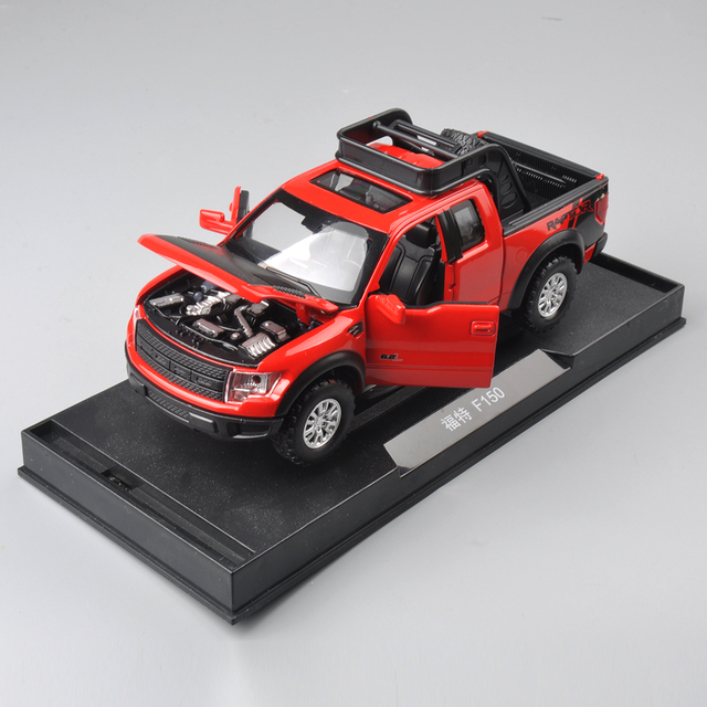 Ford China 1:32 Alloy Models Model Car Pull Back Car Children's Toys Car Kids Gift For Collection