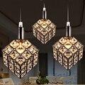 T Creativo LED Restaurante Colgante de Luz 3 luces de Lámparas de Cristal de la Manera Simple Para El Hogar Salón Dormitorio DHL Libre