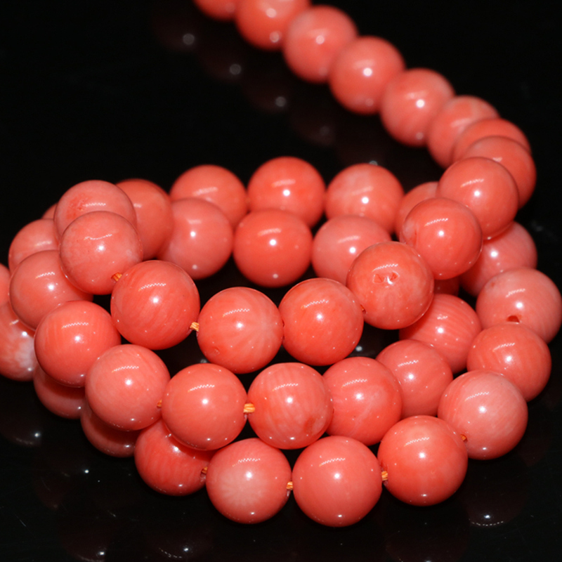 high quality pink natural coral round beads 2mm 3mm 4mm 6mm 7mm diy - Fashion Jewelry - Photo 3