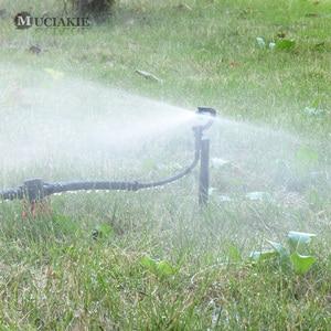 Image 2 - MUCIAKIE 50 個 24 センチメートル 180 度ミストノズルにステークガーデン灌漑マイクロドリップスプリンクラースプレー園芸用品ヘッド