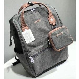 Image 2 - オリジナル Anello バックパック大容量オックスフォード防水ノートパソコンのバックパックティーンエイジャー男性スクールバッグ女性おむつバッグ旅行バッグ