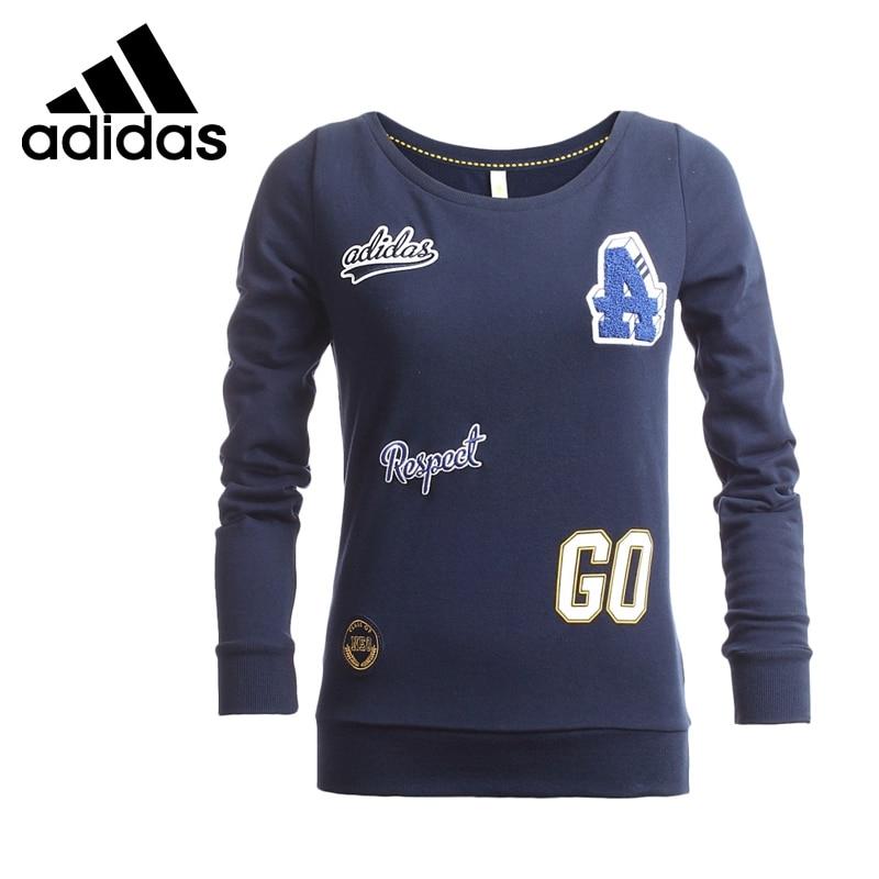 Original  Adidas NEO Label  Women's Printed  Pullover Jerseys Sportswear