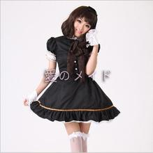 Sexy Maid Costume Sweet Gothic Lolita Dress Anime Cosplay Uniform Halloween Costumes For Women new