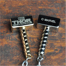 thor hammer metal keychain small pendant cool gifts for men boyfriend key chain ring holder buckle anime keychain bag trinket