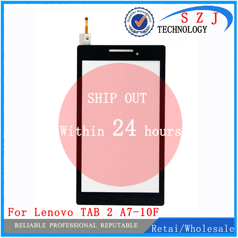 New 7'' inch For Lenovo Tab 2 A7-10 A7-10F Tablet Front Outter Touch Screen Panel Digitizer Glass Replacement Free shipping new for 7 inch beeline tab 2 tablet touch screen digitizer touch panel glass sensor replacement free shipping
