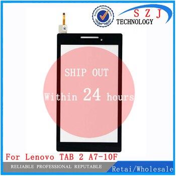 Nowy 7 ''calowy dla Lenovo Tab 2 A7-10 A7-10F A7-20 A7-20F Tablet przedni Panel zewnętrzny Panel dotykowy wymiana szkło Digitizer