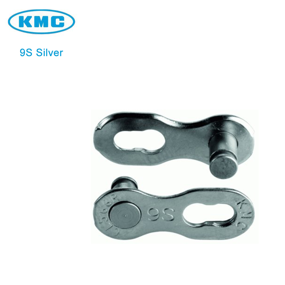 KMC RE-USABLE Missing link 9 speed Silver 2 pairs