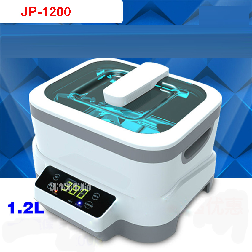 JP-1200 Digital Ultrasonic Cleaner Baskets Jewelery Watches Dental 1.2L 35W 70W Ultrasound Ultrasound Vegetable Cleaner110V/220VJP-1200 Digital Ultrasonic Cleaner Baskets Jewelery Watches Dental 1.2L 35W 70W Ultrasound Ultrasound Vegetable Cleaner110V/220V