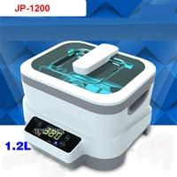 JP 1200 Digital Ultrasonic Cleaner Baskets Jewelery Watches Dental 1.2L 35W 70W Ultrasound Ultrasound Vegetable Cleaner110V/220V