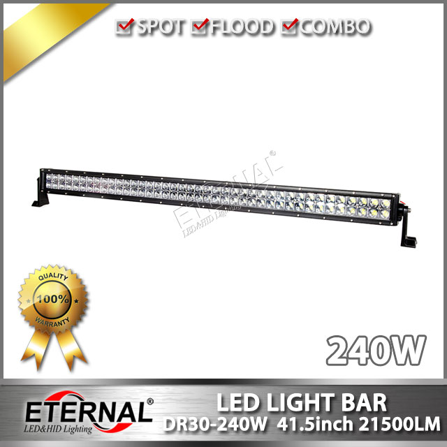 ФОТО wholesale 4pcs- 240W led light bar offroad bar lamp high power driving light for 4x4 J--eep Wrangler TJ JK CJ TJ LJ Hummer SKU