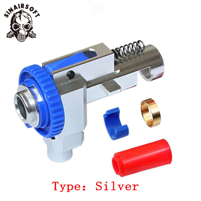 SINAIRSOFT CNC 7075 Aviation Aluminum Hop up Chamber for M4 M16 Series AEG Airsoft Marui, Dboys, JG etc Hunting Accessories