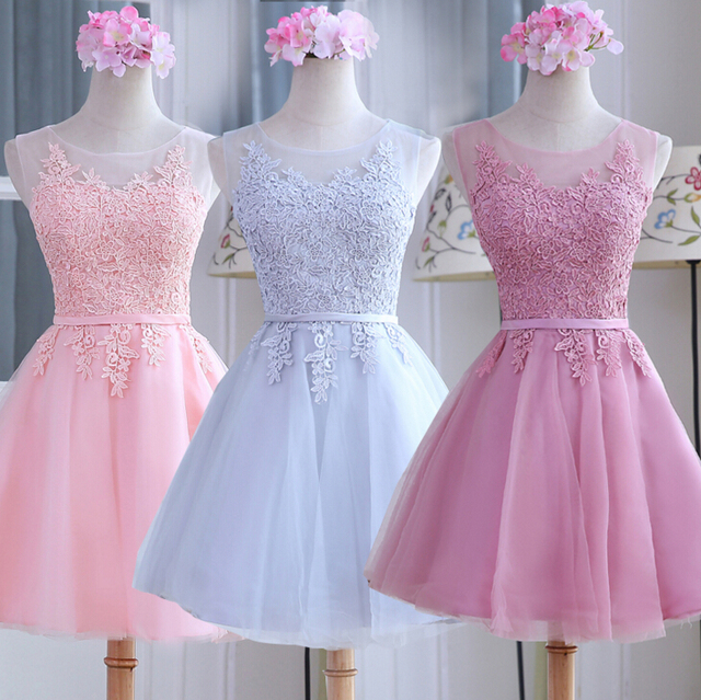 Vestidos cortos para damas elegantes