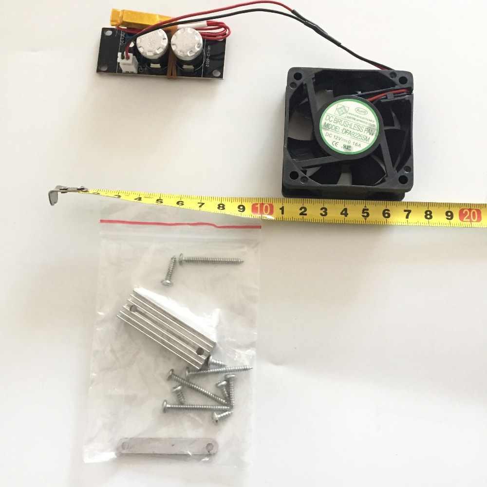 Dmuchawa System kontroli temperatury termostatu do kamery CCTV AHD TVL 1080P DC 12V
