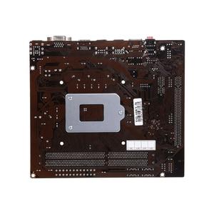 Image 2 - Оригинальная материнская плата VEINEDA, разъем LGA 1155 для настольного ПК с процессором Intel Core i3 i5 i7 DDR3, память 16 ГБ, материнская плата uATX H61 для ПК