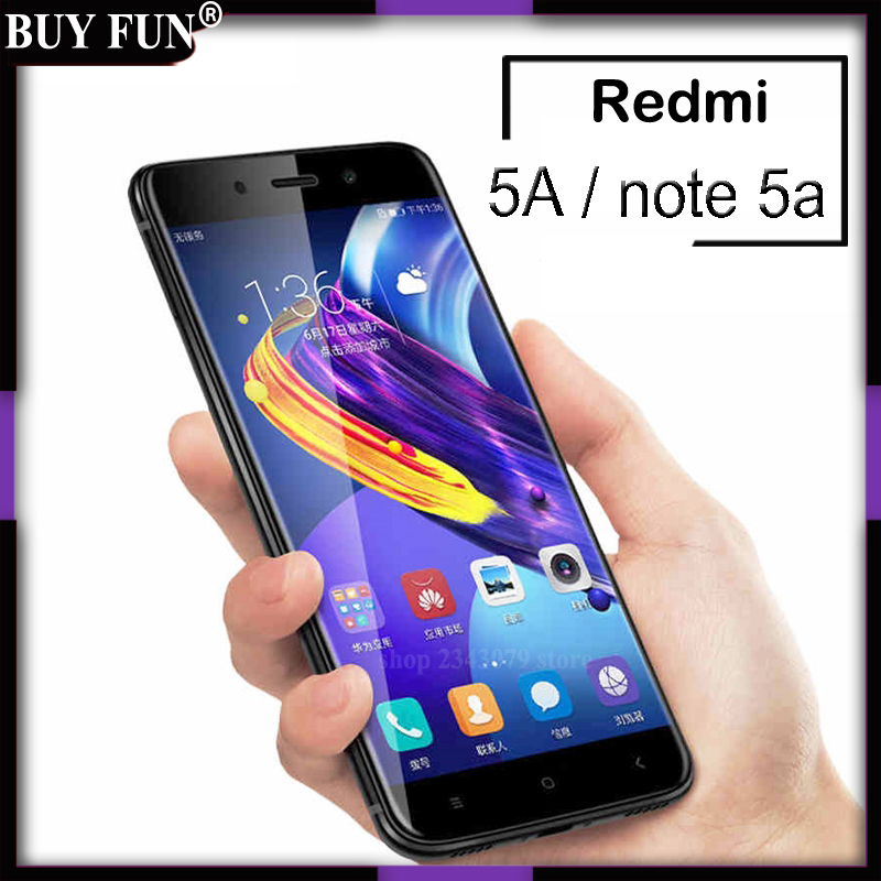Full Cover For Xiaomi Redmi 5A A5 Tempered Glass On Ksiomi Red Mi Note 5A 5 A Note5A Pro Screen Protector Protective Film Case