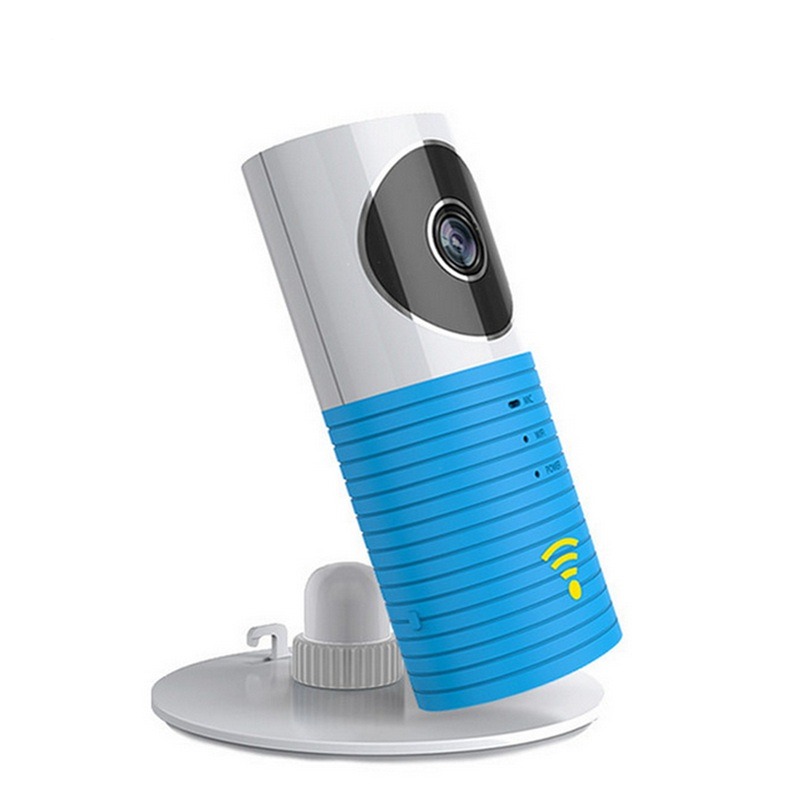 все цены на OWGYML 720P HD Clever Dog Wifi Home Security IP Camera Baby Monitor Intercom Smart Phone Audio Night Vision cam de seguridad онлайн