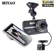 лучшая цена Car Dvr Dash Camera Mini Dual Lens 170 Degrees HD 1080P IPS Car Dash Cam Camera Recorder Night Vision Video Registrars  Dashcam