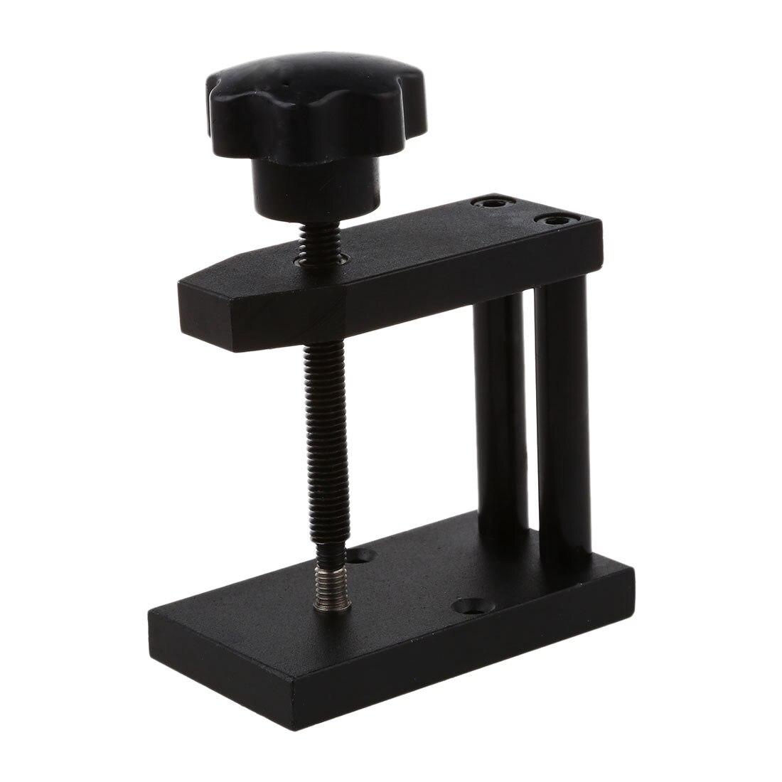 Praktische Uhr Kristall Vorderseite Rückseite Fall Abdeckung Schneckenpresse Presser Schließen Werkzeug + 12 Stirbt