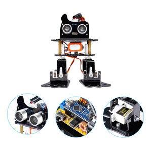 Image 3 - Sunfounder diy 4 dof robô kit sloth aprendizagem kit para arduino nano diy robô