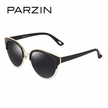 PARZIN Colorful Summer Sunglasses For Women Big Frame TR90 Vintage Steampunk Sun Glasses 2017 Brand Spectacles With Logo Box