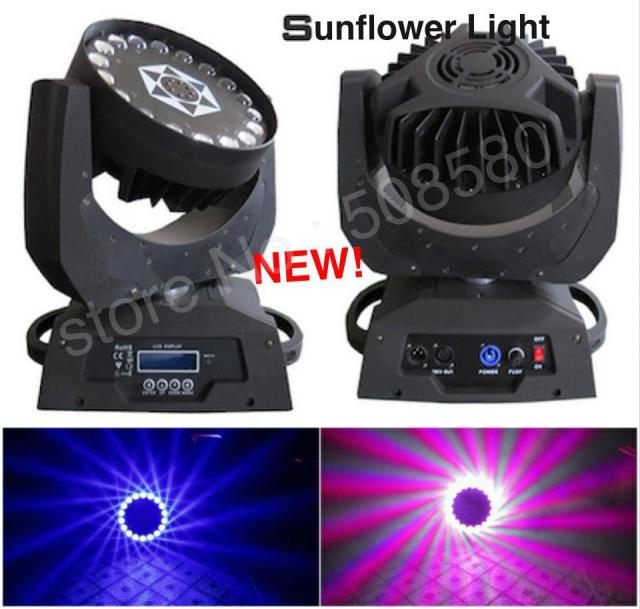 2pcs lot moving head beam led sunflower lighting effect disco bar