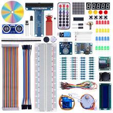 Elecrow New 2 in 1 DIY Starter Kit for Arduino Raspberry Pi 3 Starter Kit Learning Suite LCD1602 Display SG90 Servo Relay Sensor