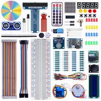 Elecrow Raspberry Pi 3 Starters Kit for Arduino 2 in 1 DIY Learning Suite LCD1602 Display SG90 Servo Sensors Module 30 Lessons
