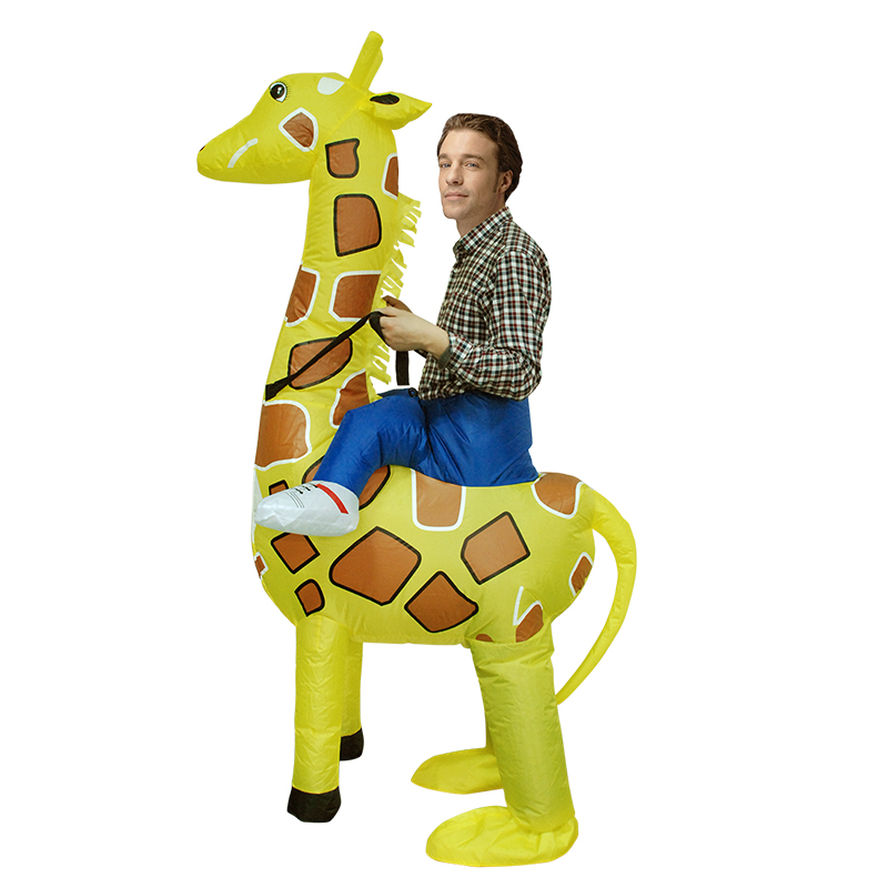 2018 hot halloween inflatable giraffe costumes for adult kid party 2018 hot halloween inflatable giraffe costumes for adult kid party cosplay costume to dress for man or women halloween gift in anime costumes from novelty solutioingenieria Gallery