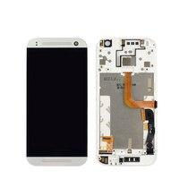Parti di ricambio Per HTC One Mini 2 M8 mini Display LCD Touch Screen Digitizer Asembly Con Cornice Lcd di Telefonia mobile