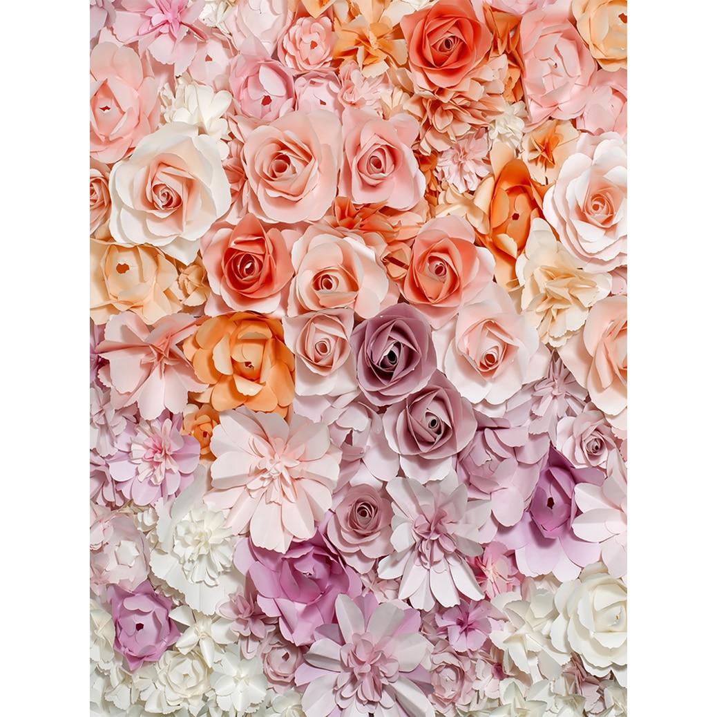 Allenjoy Fotografía Telón de fondo de papel flor de la pared - Cámara y foto - foto 2